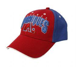 QUEBEC NORDICS -  BLUE AND RED CAP