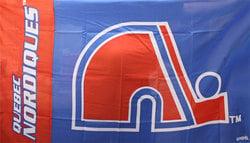 QUEBEC NORDIQUES -  3' X 5' HORIZONTAL FLAG