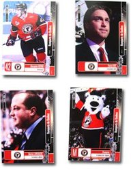 QUEBEC REMPARTS -  4-CARD UPDATE SET -  2008-09