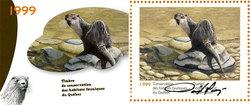 QUEBEC WILDLIFE HABITAT CONSERVATION -  1999 RIVER OTTER (SIGNED) 12