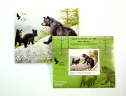 QUEBEC WILDLIFE HABITAT CONSERVATION -  2017 BLACK BEAR (UNSIGNED) 30