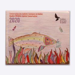 QUEBEC WILDLIFE HABITAT CONSERVATION (JUNIOR) -  2020