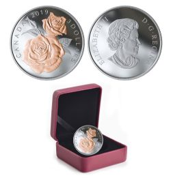 QUEEN ELIZABETH ROSE -  QUEEN ELIZABETH ROSE BLOSSOMS -  2019 CANADIAN COINS 02
