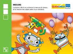 QUICKCHECK -  MESURE (FRENCH) -  2E ANNÉE