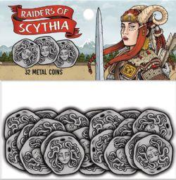 RAIDERS OF SCYTHIA -  METAL COINS