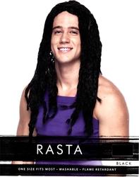 RASTA -  RASTA WIG - BLACK