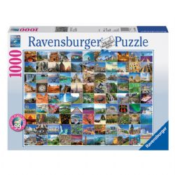 RAVENSBURGER -  99 BEAUTIFUL PLACES ON EARTH (1000 PIECES)