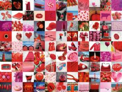 RAVENSBURGER -  99 BEAUTIFUL RED THINGS (1500 PIECES)