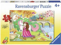 RAVENSBURGER -  AFTERNOON AWAY (35 PIECES) - 4+
