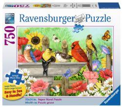 RAVENSBURGER -  BATHING BIRDS (750 PIECES)