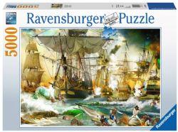 RAVENSBURGER -  BATTLE ON HIGH SEA (5000 PIECES)