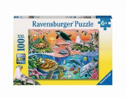 RAVENSBURGER -  BEAUTIFUL OCEAN (100 PIECES XXL) - 6+