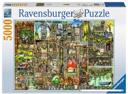 RAVENSBURGER -  BIZARRE TOWN (5000 PIECES)