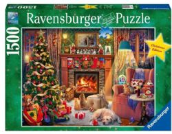 RAVENSBURGER -  CHRISTMAS EVE (1500 PIECES) -  CHRISTMAS COLLECTION