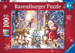 RAVENSBURGER -  CHRISTMAS IS COMMING! (100 XXL PIECES) -  CHRISTMAS COLLECTION
