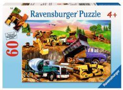 RAVENSBURGER -  CONSTRUCTION CROWD (60 PIECES) - 4+