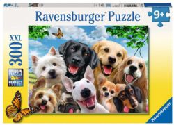 RAVENSBURGER -  DELIGHTED DOGS (300 PIECES XXL) - 9+