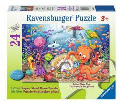 RAVENSBURGER -  FISHIE'S FORTUNE (24 PIECES XXL) - 3+