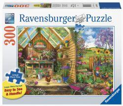 RAVENSBURGER -  GARDENER'S GETAWAY (300 PIECES )