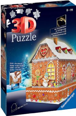 RAVENSBURGER -  GINGER BREAD HOUSE (257 PIECES)