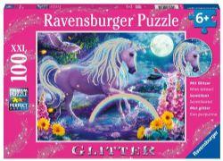 RAVENSBURGER -  GLITTER UNICORN (100 PIECES XXL) - 6+