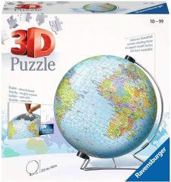 RAVENSBURGER -  GLOBE (540 PIECES) -  3D PUZZLE