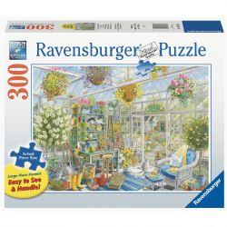 RAVENSBURGER -  GREENHOUSE HEAVEN (300 PIECES )