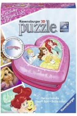 RAVENSBURGER -  HEART BOX (54 PIECES) -  3D PUZZLE