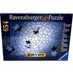 RAVENSBURGER -  KRYPT SILVER (654 PIECES)