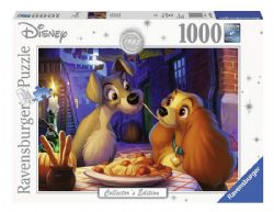 RAVENSBURGER -  LADY & THE TRAMP (1000 PIECES)