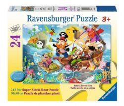 RAVENSBURGER -  LAND AHOY! (24 PIECES XXL) - 3+