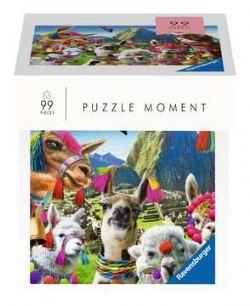 RAVENSBURGER -  LLAMAS (99 PIECES) -  PUZZLE MOMENT