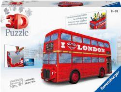 RAVENSBURGER -  LONDON BUS (244 PIECES) -  3D PUZZLE
