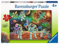 RAVENSBURGER -  MOON LANDING (35 PIECES) - 4+