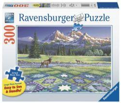 RAVENSBURGER -  MOUNTAIN QUILTSCAPE (300 PIECES)