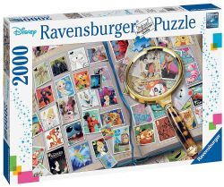 RAVENSBURGER -  MY FAVORITE STAMPS (2000 PIECES)