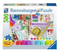 RAVENSBURGER -  NEEDLEWORK STATION (500 PIECES)