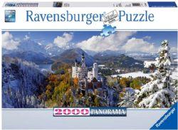 RAVENSBURGER -  NEUSCHWANSTEIN CASTLE (2000 PIECES) -  PANORAMIC