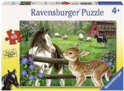 RAVENSBURGER -  NEW NEIGHBORS (2X24 PIECES) - 4+