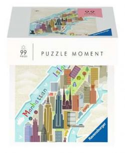 RAVENSBURGER -  NEW YORK (99 PIECES) -  PUZZLE MOMENT
