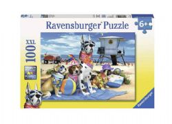 RAVENSBURGER -  NO DOGS ON THE BEACH (100 PIECES XXL) - 6+
