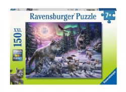 RAVENSBURGER -  NORTHERN WOLVES (150 XXL PIECES) - 7+ -  XXL PIECE