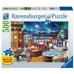 RAVENSBURGER -  NOTHERN LIGHTS (500 PIECES)