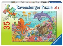 RAVENSBURGER -  OCEAN FRIENDS (2X24 PIECES) - 4+
