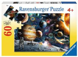 RAVENSBURGER -  OUTER SPACE (60 PIECES) - 4+