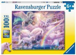 RAVENSBURGER -  PEGASUS UNICORNS (100 PIECES XXL) - 6+