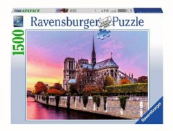 RAVENSBURGER -  PICTURESQUE NOTRE DAME (1500 PIECES)