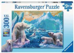 RAVENSBURGER -  POLAR BEAR KINGDOM (300 XXL PIECES) - 9+ -  PIÈCES XXL