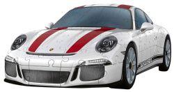 RAVENSBURGER -  PORSCHE 911 R (108 PIECES) -  3D PUZZLE