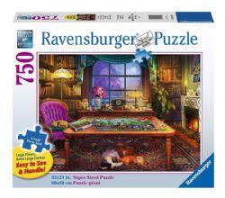 RAVENSBURGER -  PUZZLER'S PLACE (750 PIECES)